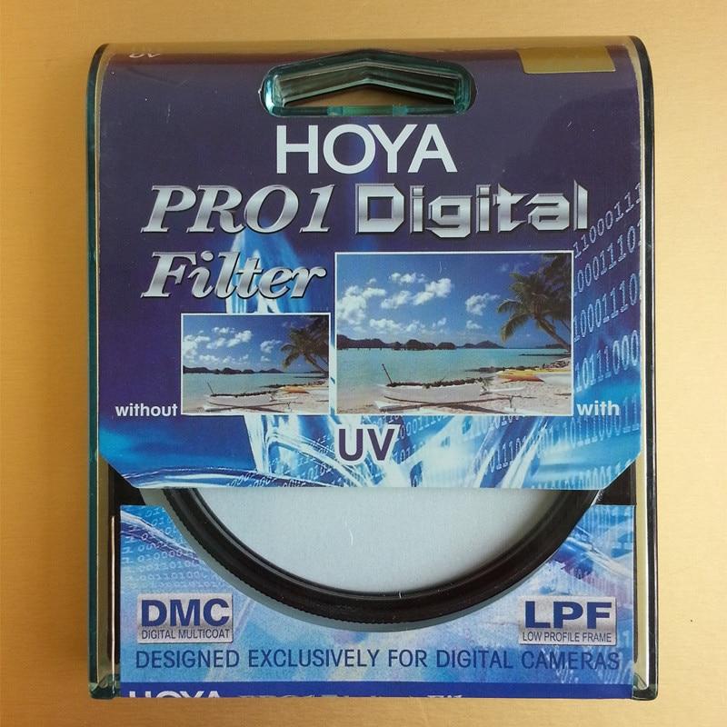 HOYA PRO1 Digital Filtro UV 49 52 55 58 62 67 72 77 82mm Marco de Perfil Bajo Pro 1 UV DMC (O) multicapa Para Lente de La Cámara