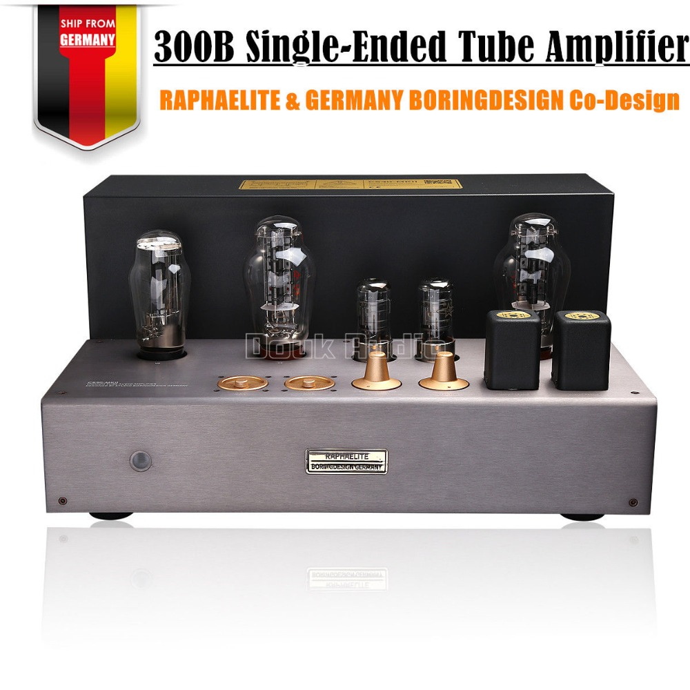 Nobsound Latest Hi-end Raphaelite CS30MKII 300B Vacuum Tube Integrated Amplifier Single-ended Class A Power Amplifier hi end 300b valve