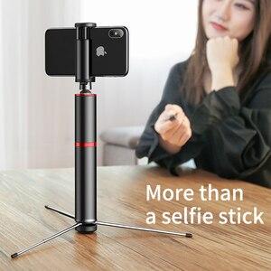 Image 5 - Baseus بلوتوث Selfie عصا المحمولة المحمولة الهاتف الذكي كاميرا ترايبود مع اللاسلكية عن بعد آيفون سامسونج هواوي أندرويد