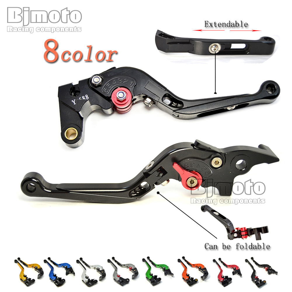 LS-001-MG CNC Adjustable Foldable Extendable Motorcycle Brake Clutch Levers For BREVA 750 STELVIO MGX21 V7 Racer AUDACE cnc adjustable motorcycle billet foldable pivot extendable clutch