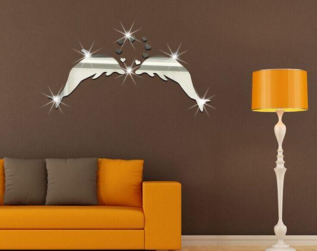 Kinderkamer Lamp Dolfijn : Stks dolfijn patroon spiegel stickers woonkamer slaapkamer