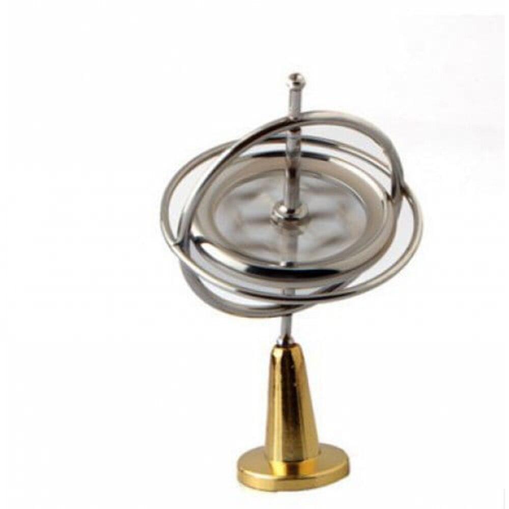 Giroscópio giroscópio de metal brinquedos clássicos tradicionais educativos de alta qualidade experimento criativo magia ufo spinner criança presente adulto