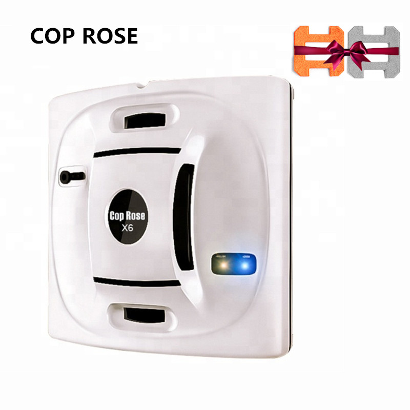 COP ROSE X6 Robot de nettoyage de vitres X6, aspirateur magnétique, Anti-chute, télécommande, lavage automatique du verre, 3 Modes de travail
