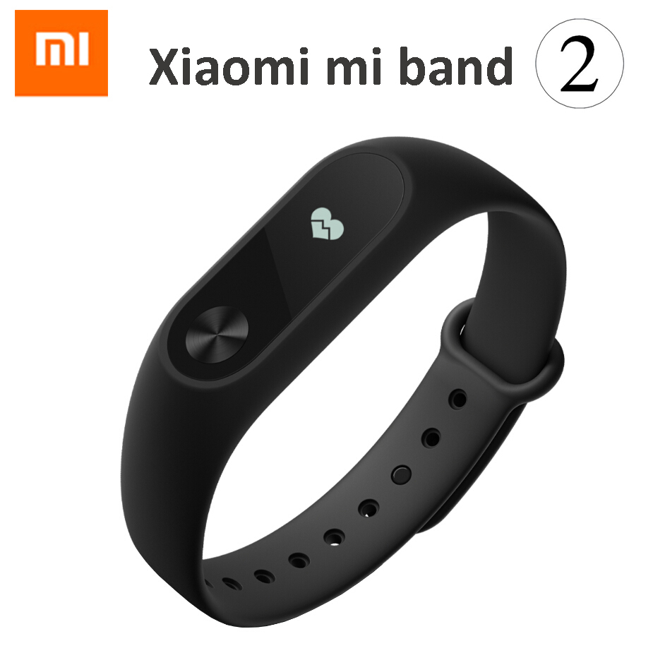 Original Xiaomi Mi Band 2 MiBand 2 1S 1A Smart Heart Rate Fitness Wristband Bracelet Tracker OLED Display Mi2 In Stock!
