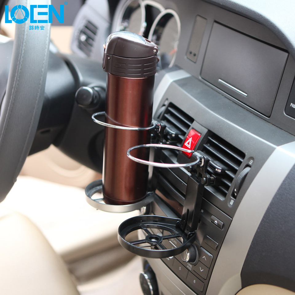 Car Drink Holder ABS+Wire Automotive Mount Holder Stand Car Cup Holder UK