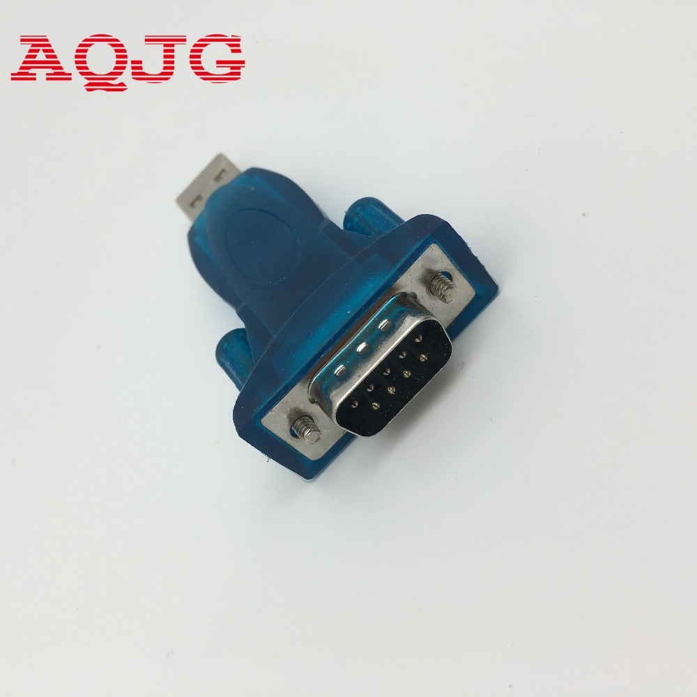 New USB 2.0 to RS232 Serial Converter 9 Pin Adapter Usb to rs232 DB9 male  for computer  Wholesale AQJG