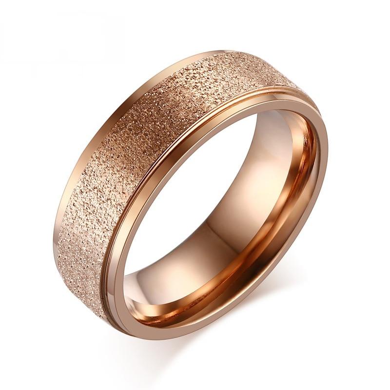 【Heyrock Мода Golden Rose Кольца для Для женщин свадебные ...