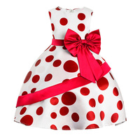 High Quality Princess Dress For Summer Girl Dress Sleeveless Floral Child Ball Gown Kids Dresses For