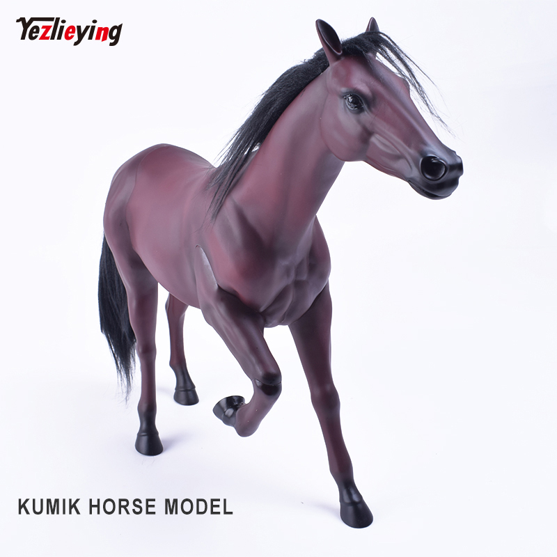 KUMIK 1/6 Scale War Brown HORSE Model AC-10 Fit for 12 Inch Soldier ZCTOYS/TTL/Phicen Action Figure Body Dolls цены