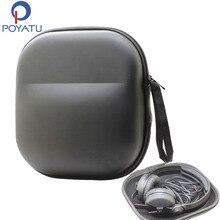 POYATU étui pour écouteurs sac pour Sennheiser HD25 HD25 1 II HD25 SP HMD25 HME25 HMEC25 HME45 HMEC45 casque boitier housse de rangement