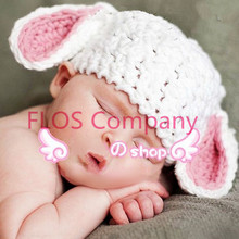 1hat cap Cute new Sleep Ears Photograpy Earflap infant &Toddler for baby Child Newborn girls Warmer Photography