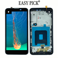 LCD Display Touch Screen Digitizer Assembly with Frame For LG X screen X view K500 K500DS K500N