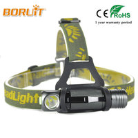 BORUIT Brand 1000 Lumens Green Head Lamp XPL V5 LED Headlight Mini Flashlight Outdoor Sport Headlamp