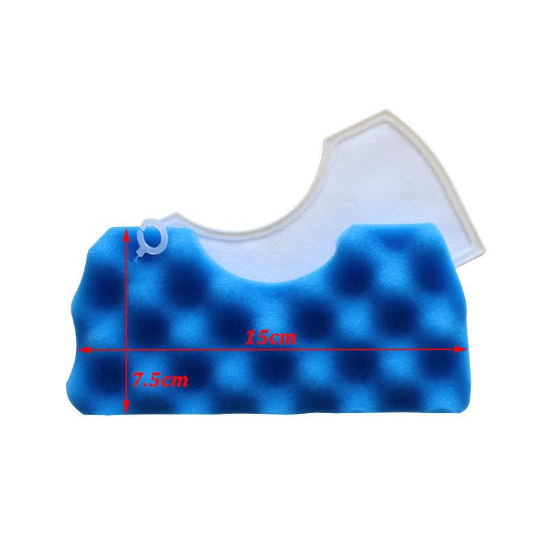 1 סט אבק Hepa מסנן + 1 סט ספוג מסנן עבור Samsung DJ63-00669A SC43 SC44 SC45 SC46 SC47 סדרת רובוט שואב אבק חלקי