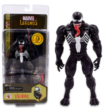 Amazing Venom Spider-Man Articular Movable Spiderman Action Figure PVC Collectible Model Toy Christmas Gift the amazing spider man venom carnage revoltech series no 008 action figure toy brinquedos figurals collection model