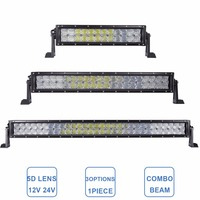 5D 120W 200W 300W Offroad LED Work Light Bar 14 22 32 12V 24V Car Truck