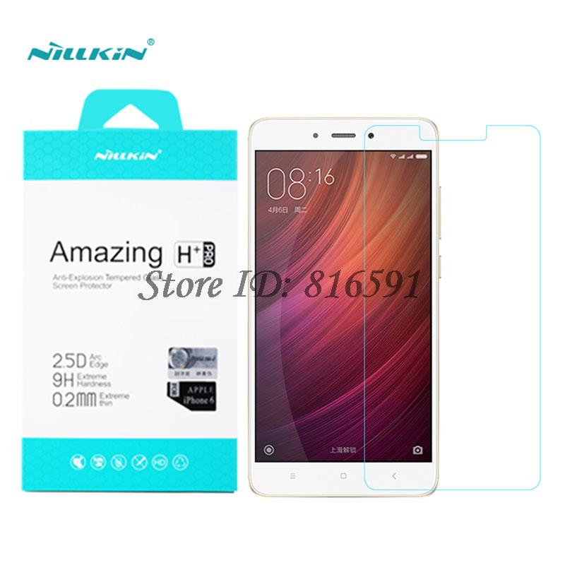 Nillkin Brand Xiaomi Redmi Note 4 Tempered Glass 5.5 inch Amazing H+Pro Screen Protector For Xiaomi Redmi Note 4 Pro Prime