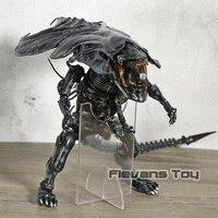 HEROCROSS Hybrid Metal Figuration Alien Queen PVC Action Figure Collectible Model Toy