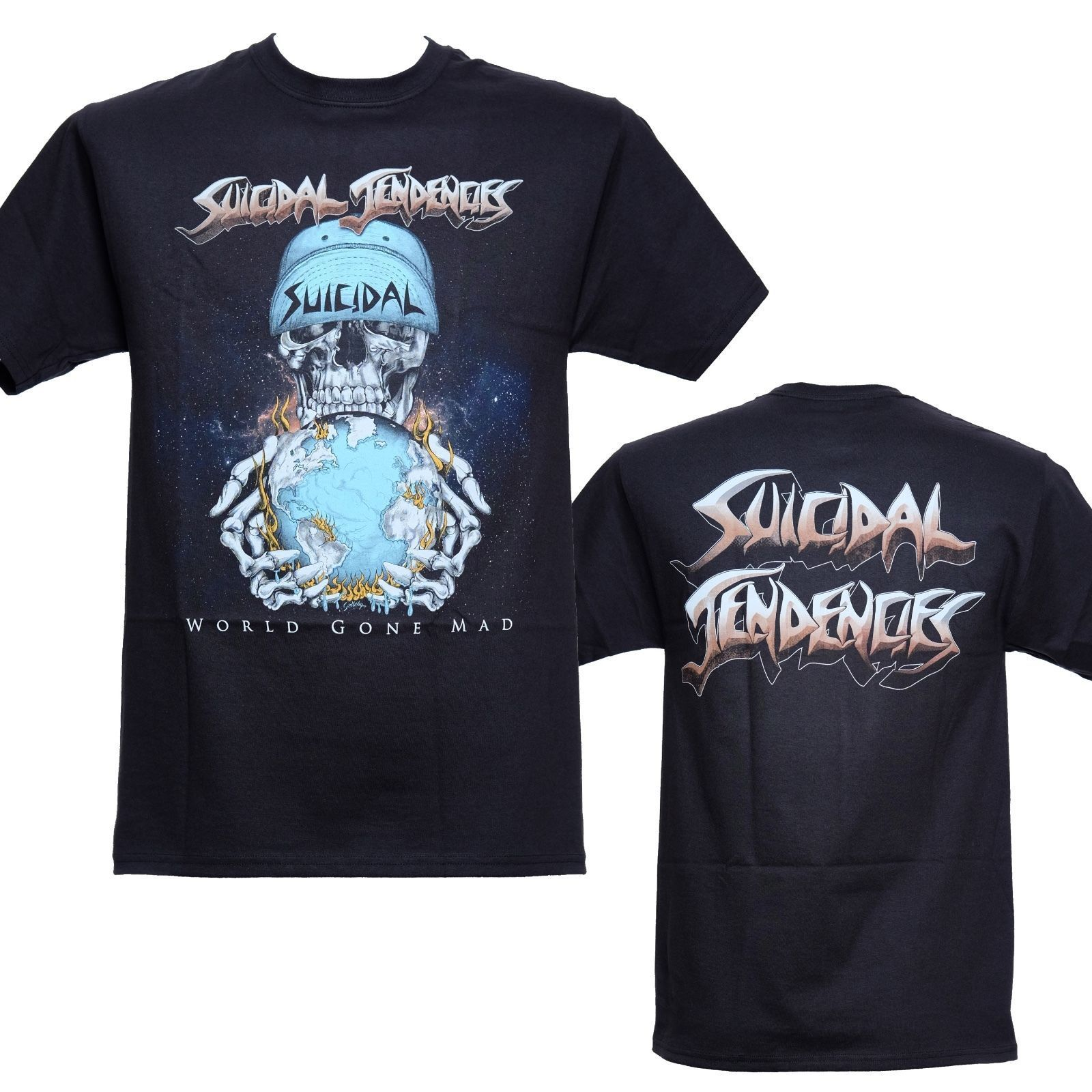 SUICIDAL TENDENCIES *Official* World Gone Mad T-Shirt New S-3XL ...