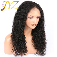 Curly Wave Lace Front Human Hair Wigs 130 Density Pre Plucked Brazilian Human Hair Wigs For Black Women Remy Hair Wig