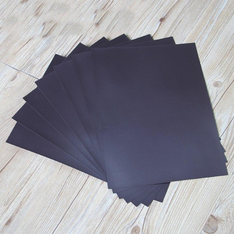 5 stücke gummi Magnetfolie bord 0,5mm Für Spellbinder Stirbt/Handwerk Starke Dünne Und Flexible 297x210mm