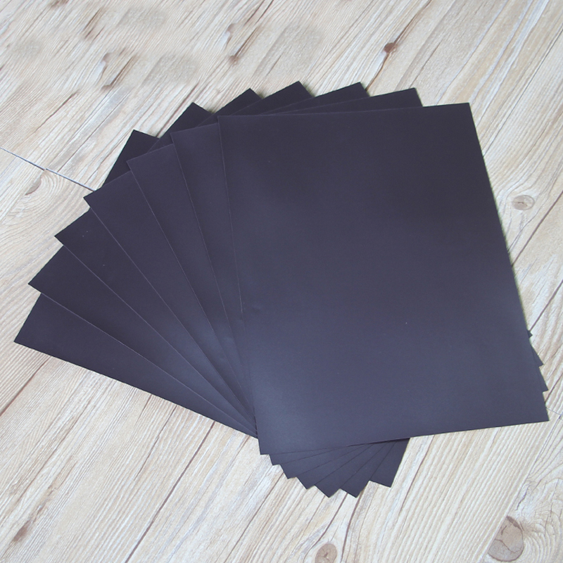 5pcs Rubber Magnetic Sheet Board 0.5mm For Spellbinder Dies/Craft Strong Thin And Flexible 297x210mm