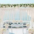 Macrame parede pendurado algodão artesanal tapeçaria de parede tecido grande boho casamento pano de fundo decoração yu-casa