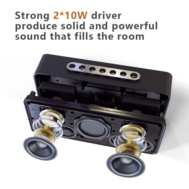 DOSS caja de resonancia XL Portátil inalámbrico Bluetooth altavoz Dual-conductor 3D estéreo audaz Bass altavoz inalámbrico TF AUX USB - 4