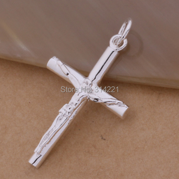 Men domineering male and female models 925 sterling silver men domineering male and female models 925 sterling silver necklace couple silver crucifix pendant necklace genuine aloadofball Image collections