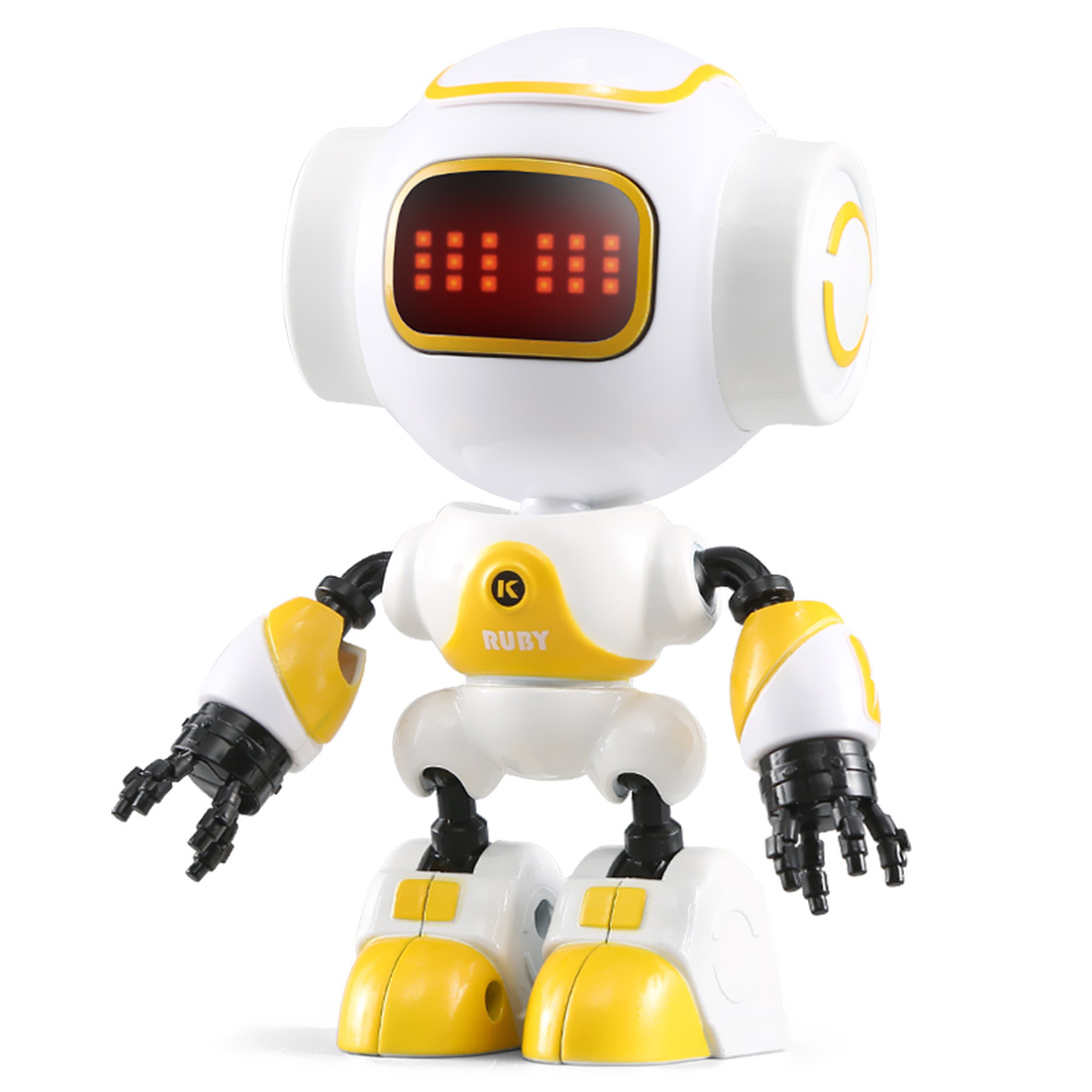 JJRC R9 RC Robot RUBY Touch Control DIY Gesture Mini Smart Voiced Alloy Robot Toy RC Robots Children Kids Birthday Gifts Present