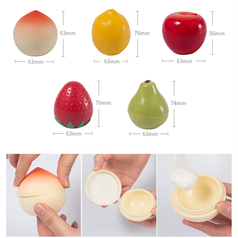 30g fruit cream bottle Packing boxes empty bottle Travel portable sample moisturizer box cosmetics Sub bottle wholesale BQ167 in Tumblers from Home Garden