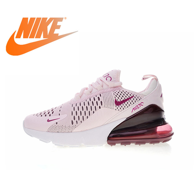 c5f3e67c19 Original Authentic Nike Air Max 270 Womens Running Shoes Sneakers Sport  Outdoor jogging Breathable Comfortable durable