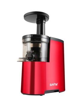SAVT Juice Extractor Smoothie Blender Quiet Electric Juicer Slow Jucer Soymilk Maker Slag Juice Separation Cup Soybean Grinding