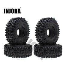 """4 шт. 120 мм 1,"""" резиновые камни шины/колеса шины для 1:10 RC Рок Гусеничный осевой SCX10 90047 D90 D110 TF2 Traxxas TRX-4"""