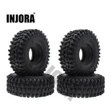 4 шт. 120 мм 1,9 дюйма резиновые шины/колесные шины для 1:10 RC Rock Crawler Axial SCX10 90046 AXI03007 D90 D110 TF2 Traxxas TRX 4