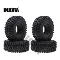 4PCS 120MM 1.9 Rubber Rocks Tyres / Wheel Tires for 1:10 RC Rock Crawler Axial SCX10 90047 D90 D110 TF2 Traxxas TRX 4