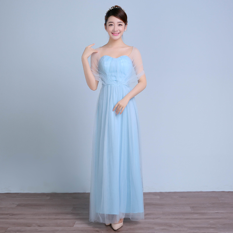4c19ff42899 Fashion formal party dresses for 15 16 17 18 year old girl girls party  dresses teenagers long light blue wedding gown-in Dresses from Mother    Kids on ...