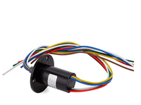 High Current Conductive Slip Ring 4Channel 5 Channel 6 Channels 10A Capsule Sliprings Out Dia 22mm