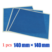 10sheets*140 mm * 140 mm Blue Crepe Paper Masking Tape with Rubber Adhesive for 3D printer