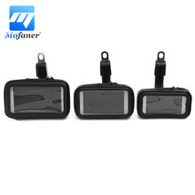 Mofaner Waterproof Motorcycle Phone Bag Mirror Mount Phone GPS Case Bag Pouch Holder For Scooter Bike Motorbike 3.5 To 5.5 Inch
