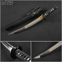 Black Ninja Swords Samurai Katana Sword Carbon Handmade Espada Ninja Katana Espada Samurai Japonesa Afiada Espada Samurai