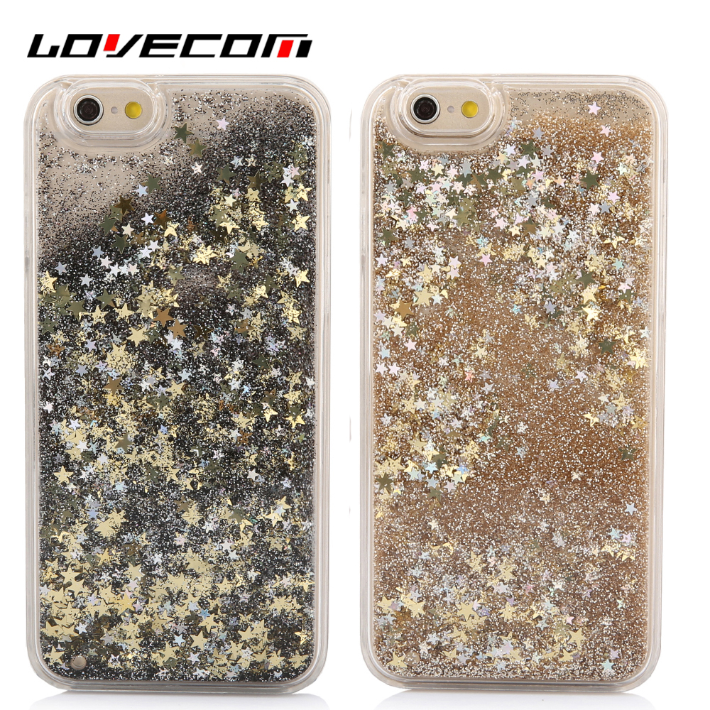 Lovecom dynamic liquid glitter star arenas movedizas de lentejuelas de colores d
