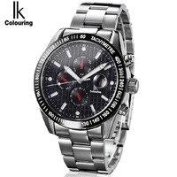 ¡Novedad de 2019! relojes IK de lujo para hombre con diseño de esqueleto  relojes mecánicos automáticos para hombre  reloj Masculino 4171