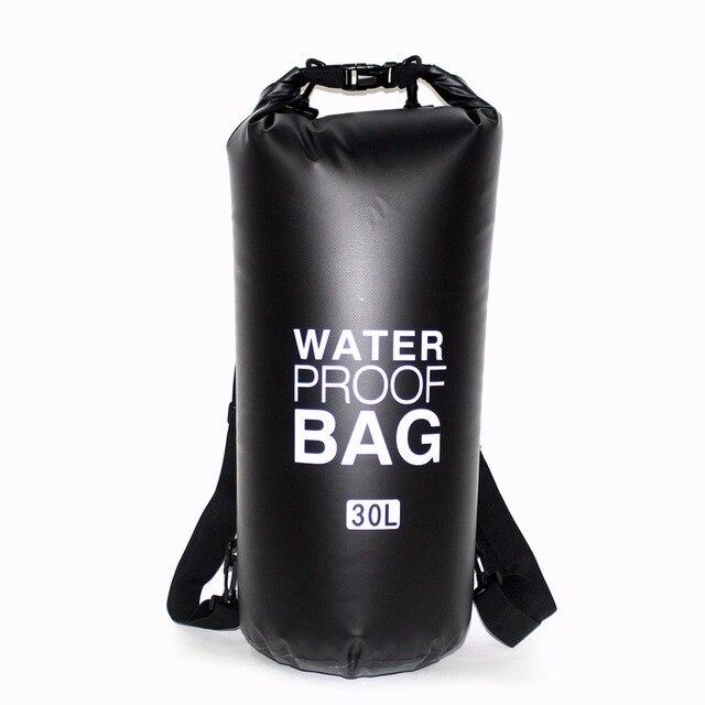 20L 30L ПВХ открытый водостойкий сухой спасательный жилет сумка рюкзак непроницаемый сумка для воды плавание водостойкий мешок восходящий