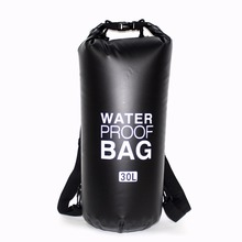20L 30L PVC Outdoor Waterproof Dry Swimming Drifting Bag Backpack Impermeable Ocean Pack Swim Water Proof Bag Upstream