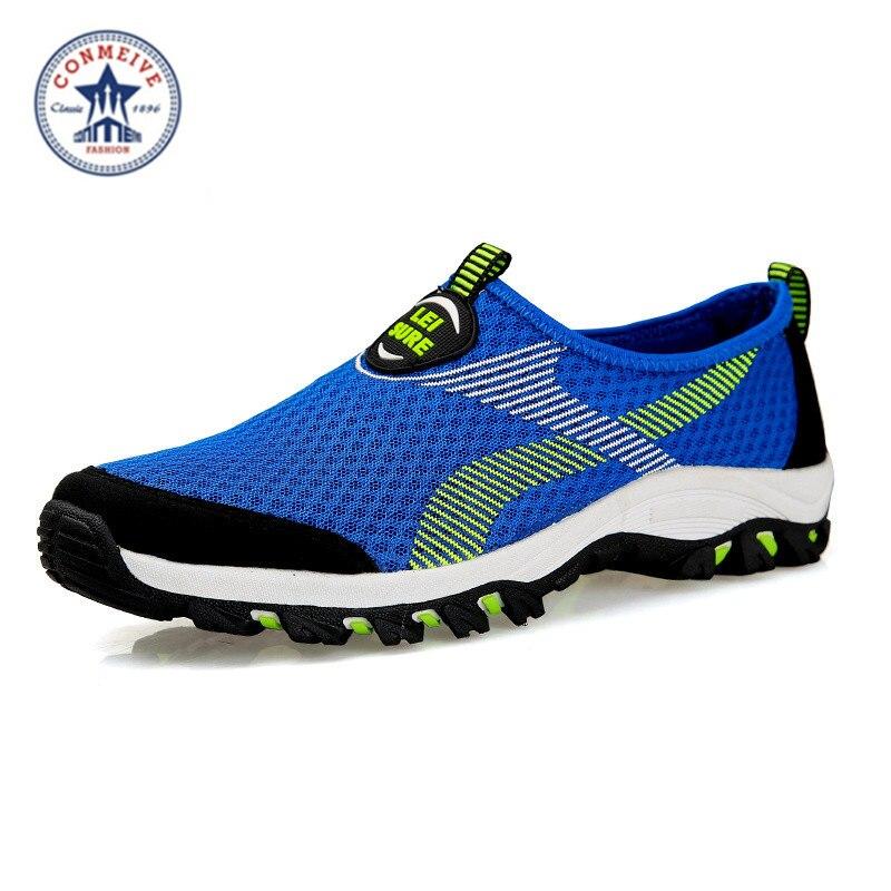 New Running Shoes Sneakers for Men Sport Cheap Sneaker Original Brand Man Breathable Mesh (Air Mesh) Wide(C,D,W) light