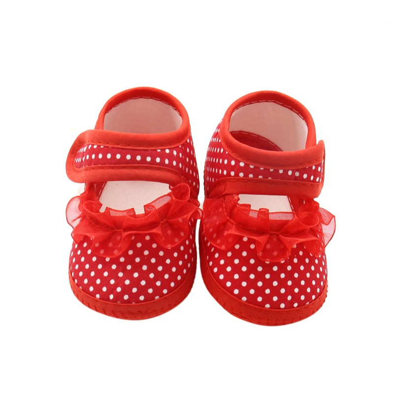 Baby Girls Toddler Bow Lace Flower Shoes Footwear Summer Baby Girl Cloth Soft Sole Shoes First Walkers