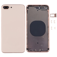 For iPhone 8 PLUS High Quality Back Full Assembly Metal Housing Cover with Side Keys SIM Tray