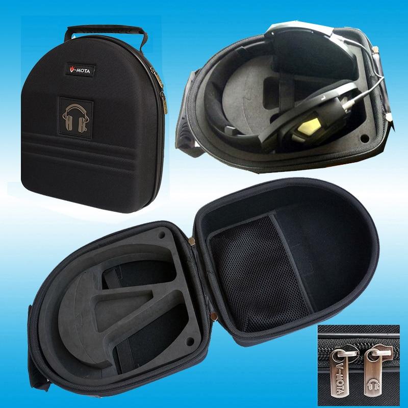 V-MOTA TDD Headphone carry case boxs For Sennheiser HD800 Silver HD8 DJ HD6 HD700 HD650 HD630VB GAME ZERO headphone(suitcase)