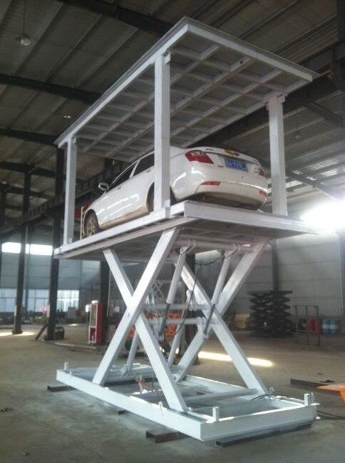 Favori Concert charge hydraulique ciseaux voiture ascenseur plate forme  AV27